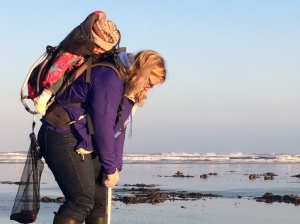 Mother & Daughter Enjoy Razor Clamming Together